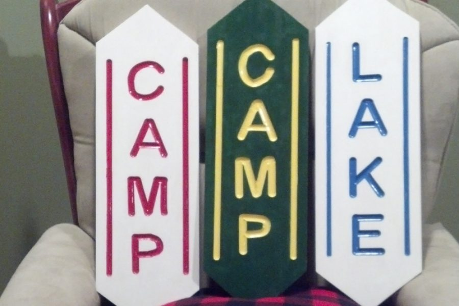 Vintage/Camp Series Signs