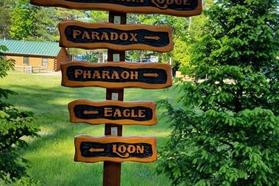 Custom Cedar Sign Posts