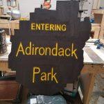 Entering Adirondack Park signs