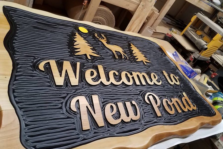 Custom Camp/Cabin/Lodge Sign