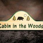 Custom Camp/Cabin/Lodge Sign