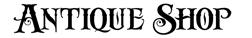 Antique shoppe font
