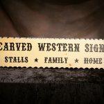 Western/Equine Series Signs