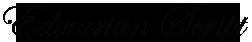 edwardian script font