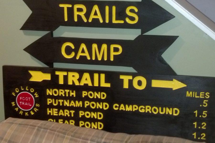 Vintage/Camp Series Signs