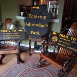 Personalized Adirondack Trailhead signs