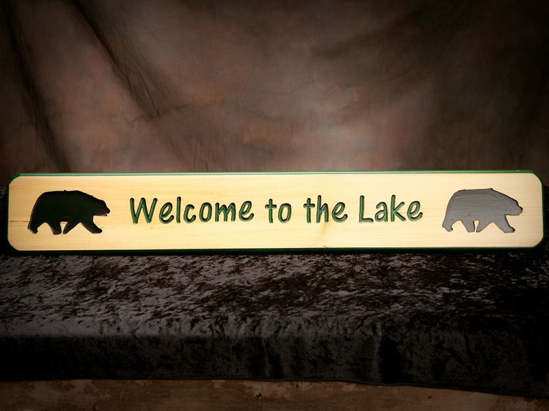 Northwoods Series Signs