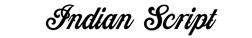 Indian Script font