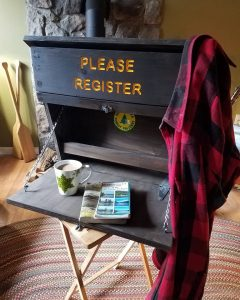 Trail Head Registration Box